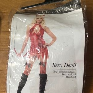 🎃 Women's Sexy Devil Halloween Costume